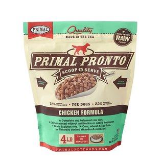 Primal Primal - Pronto K9 Chicken 4#