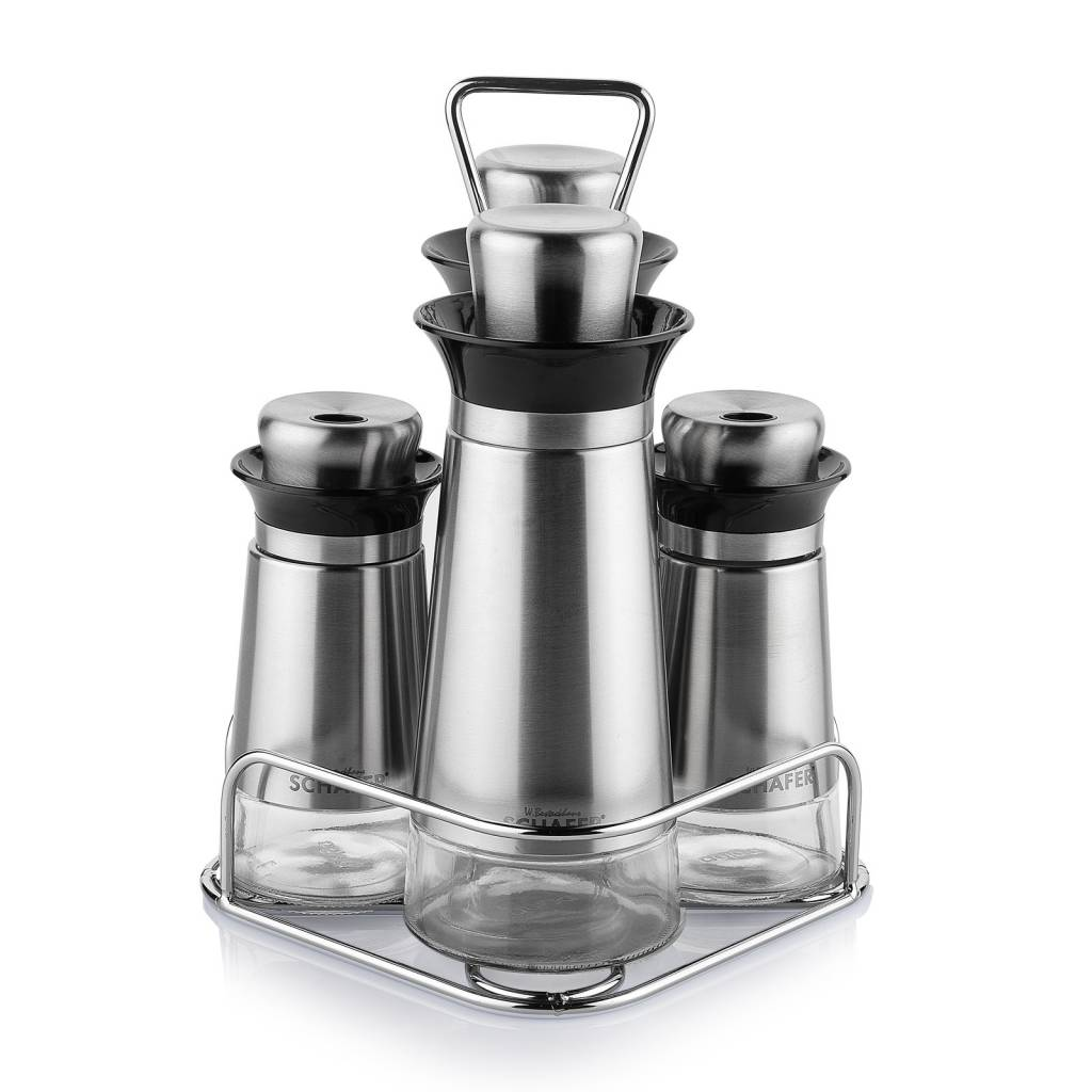 Kitchenhouse Oil Range Set Silver