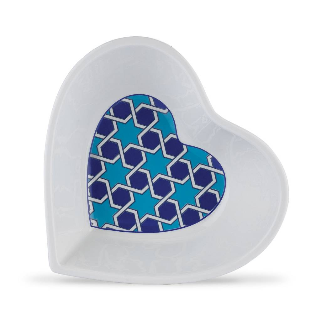 Majolika Heart Plates 3pc