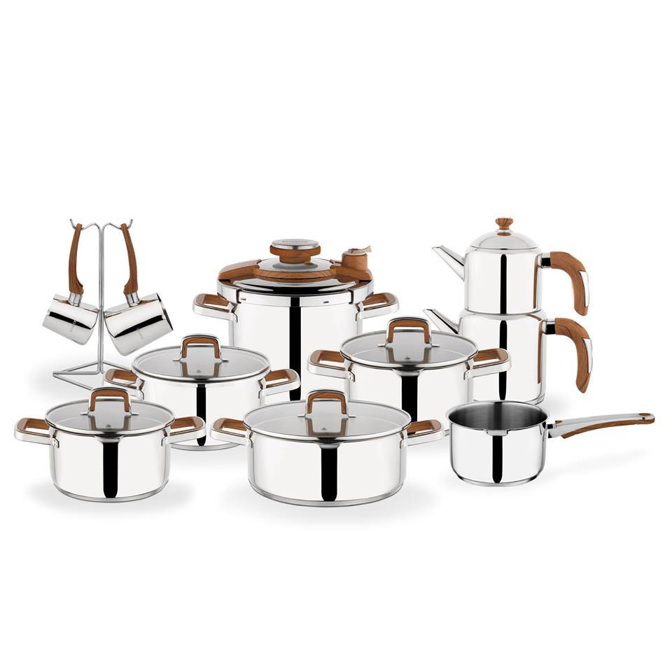 Compact Marriage Set - Wood