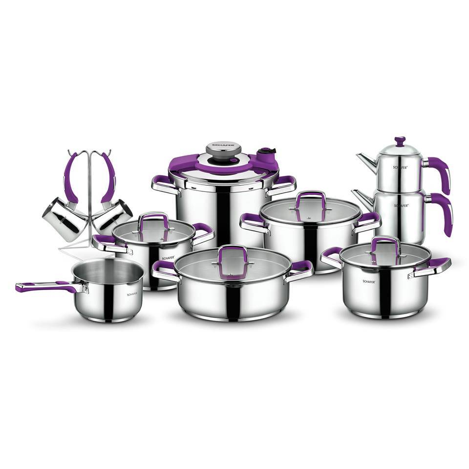 Compact marriage set purple