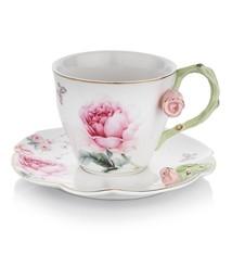 Rosa Tea Cup Set 12pcs