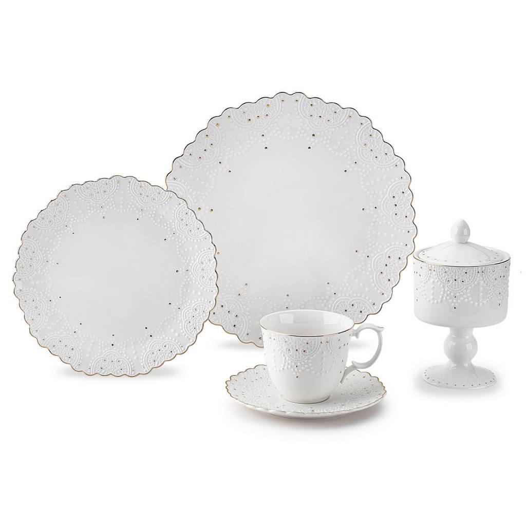 Frau Schick Large plates 6 pcs