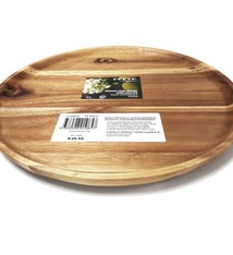 Clasica Acacia Wooden Round Tray