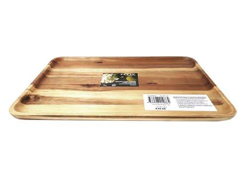 Clasica Acacia Wooden Rectangular Tray