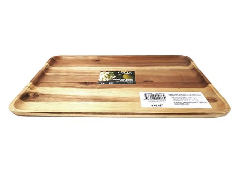 Classica Acacia Wooden Rectangular Tray