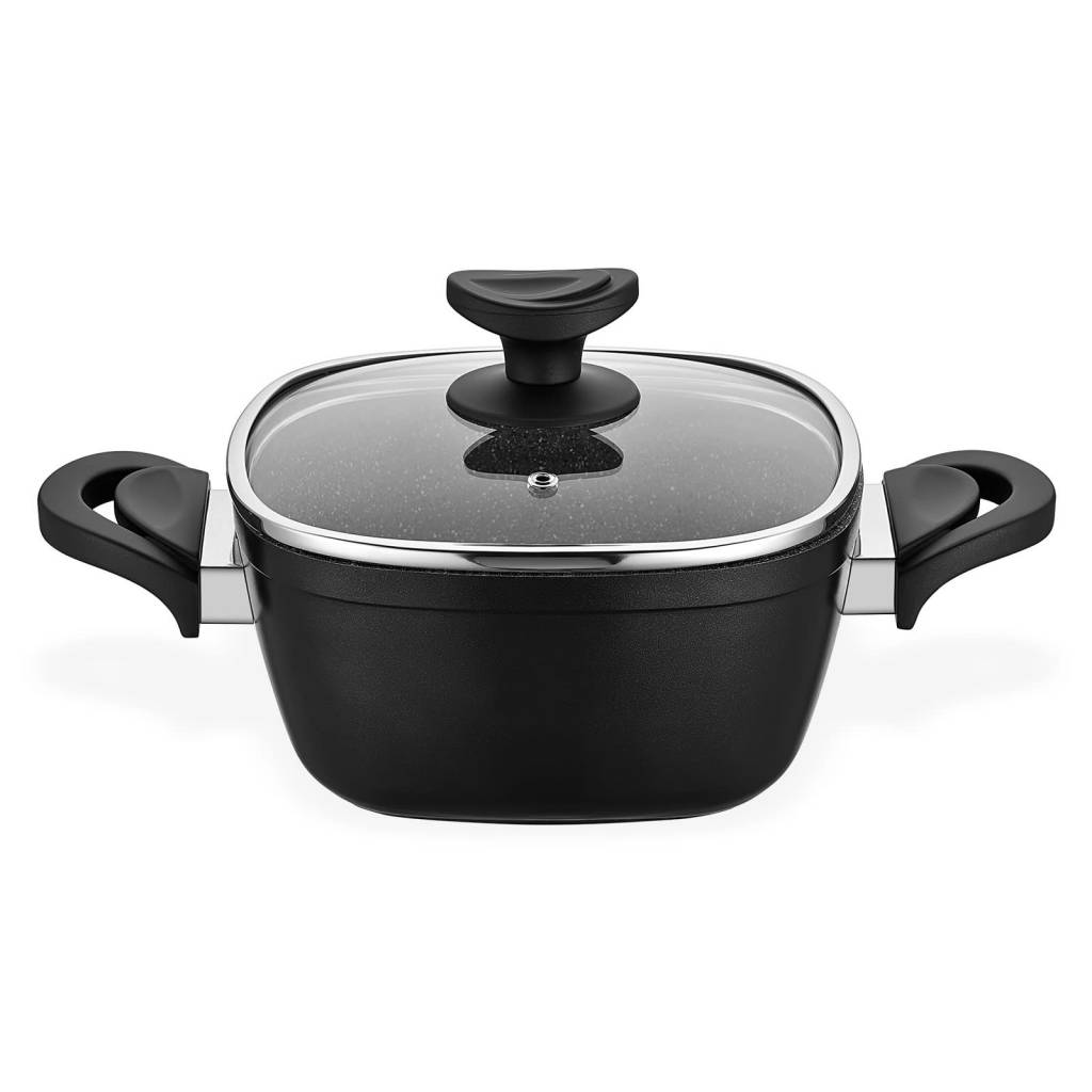 Gastronomie Granit Deep Pot 20cm Black