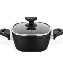 Gastronomie Granit Deep Pot 24cm Black