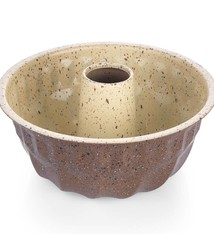 Vanille Bundt Cake Pan 22cm Brown