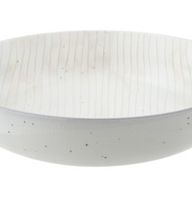 Albi Pinstripe Serving Bowl 30cm