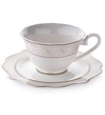 Dantella Coffee Cup Set 12pc Gold
