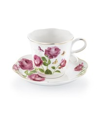 Diva Coffee Cup Set - Roses 12pc