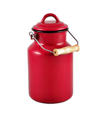 Urban Style Enamel Milk Vessel 2L - Red