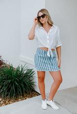 JACK by BB Dakota Say it in Stripes Skirt