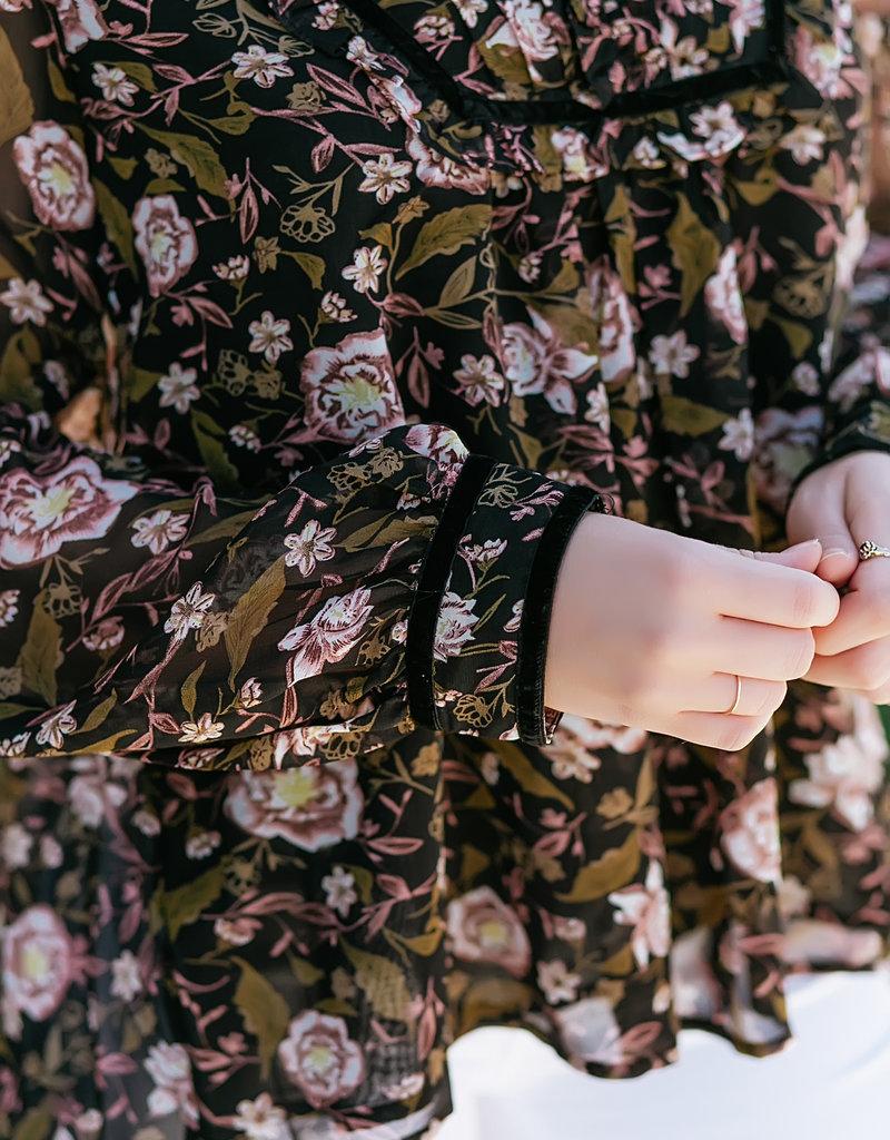 Dex Mist Garden Floral Top