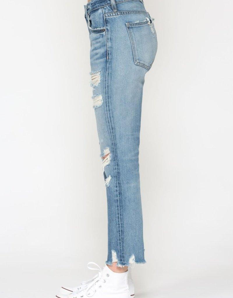 Hidden Jeans Bailey Slim Boyfriend Medium Blue