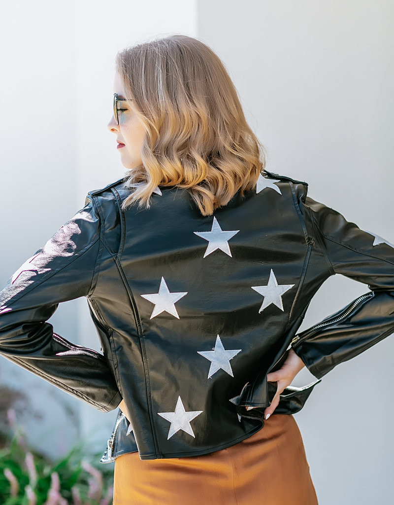 Joplin Black/Star Jacket