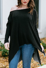 Dolman Sleeve French Terry oversized top