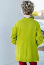 Lime Cardigan