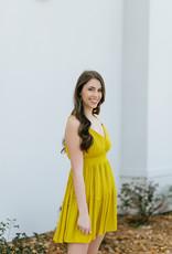 JACK by BB Dakota Steal My Sunshine Dress-Tuscan Gold