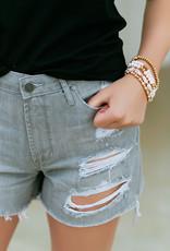 Articles of Society Meredith-Nova Grey Shorts