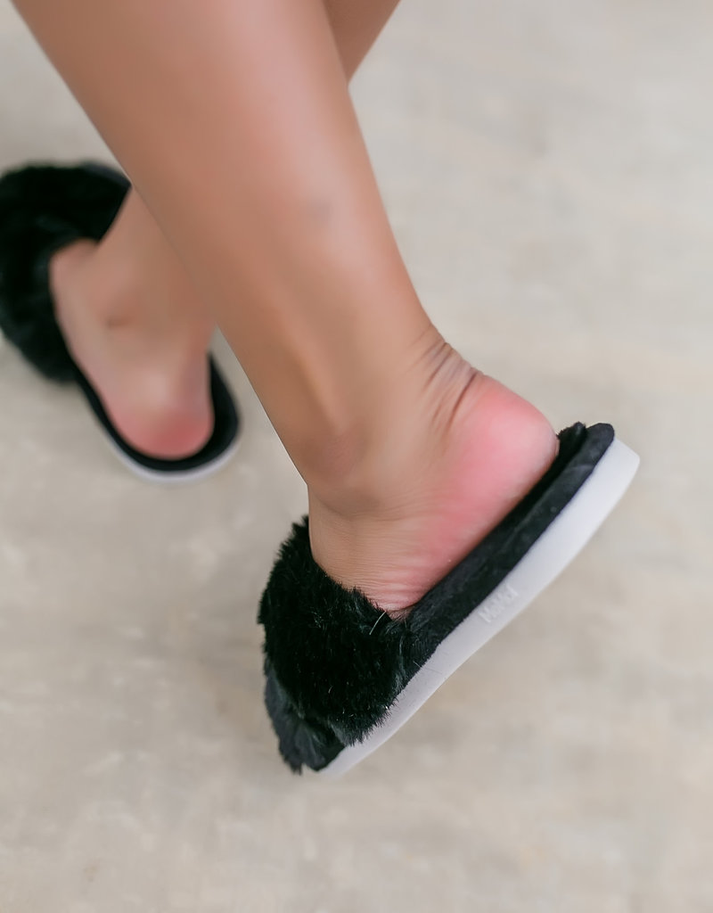 MeMoi' Beverly Fur Plush Slipper
