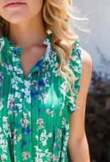 Pinch Green Floral Dress