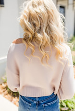 HYFVE Sand Cropped Sweater