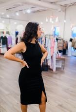 RD USA International Black Dressy Knit Dress