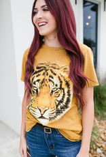 Light So Shine Tiger Mineral Wash Tee