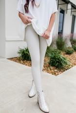 RD USA International Nude/Beige Vegan Leather Leggings
