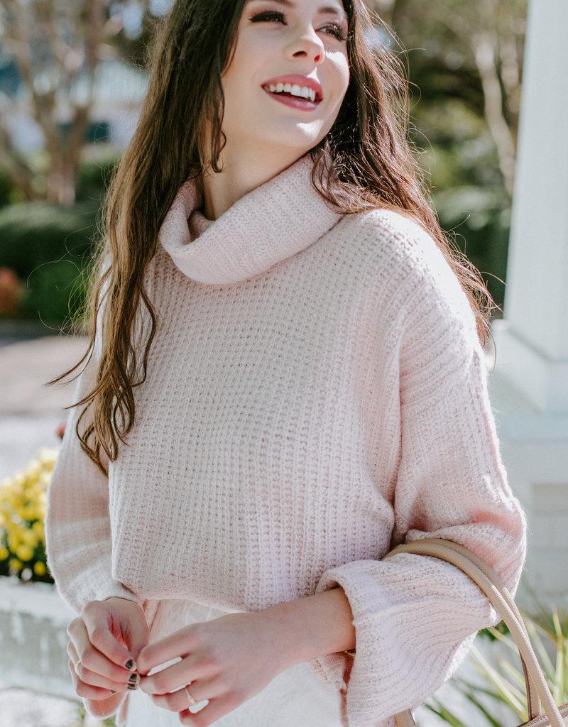 RD USA International Sepia Rose Sweater