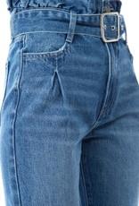 Ontwelth Oversized High Rise Boyfriend Jean w/Belt