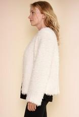 Madison Ivory Fur Sherpa Coat