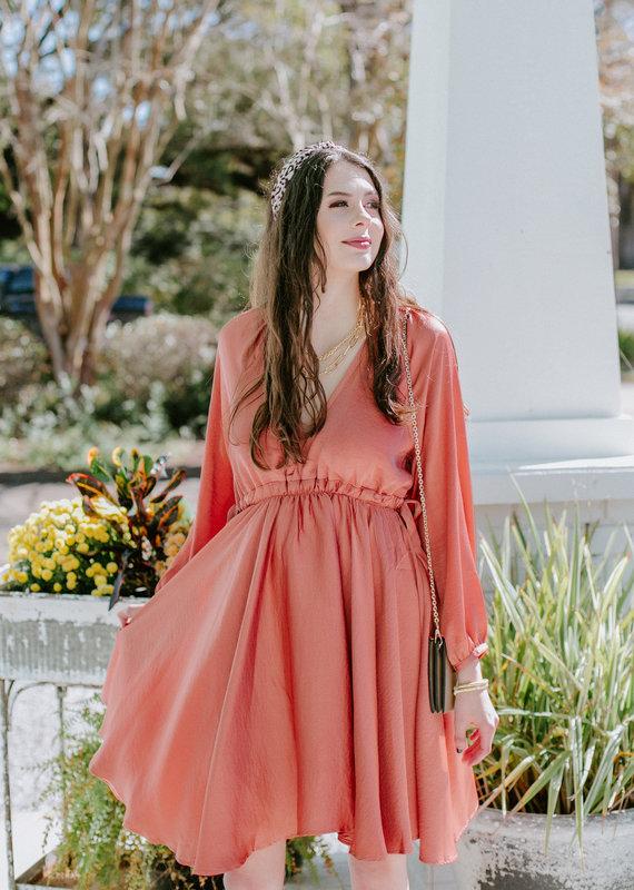 Pinch Autumn Rose Dress