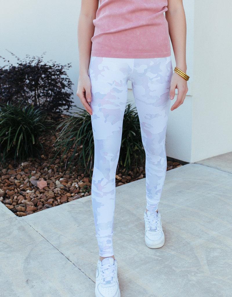 Mono B Pink Dawn Camo Leggings