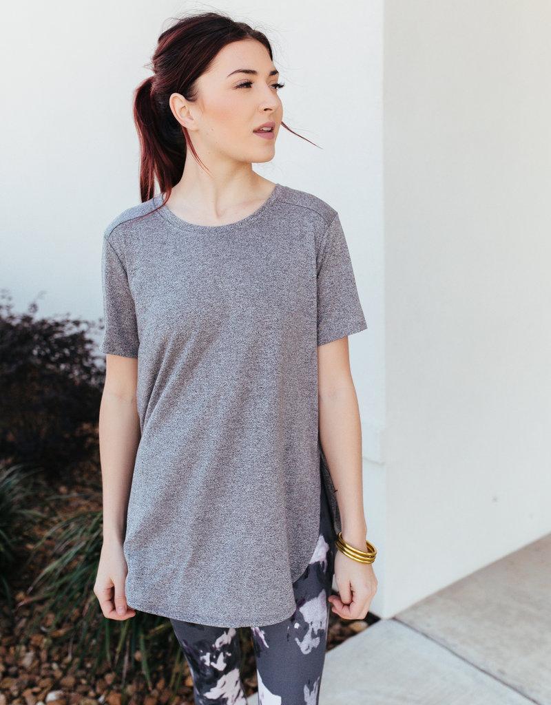 Mono B Short-Sleeve Tulip Shirt