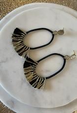 Saints Tassel Earrings