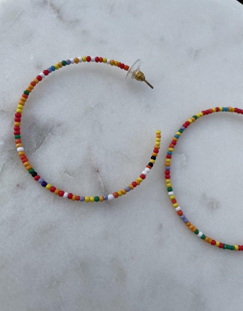 Multicolored hoops