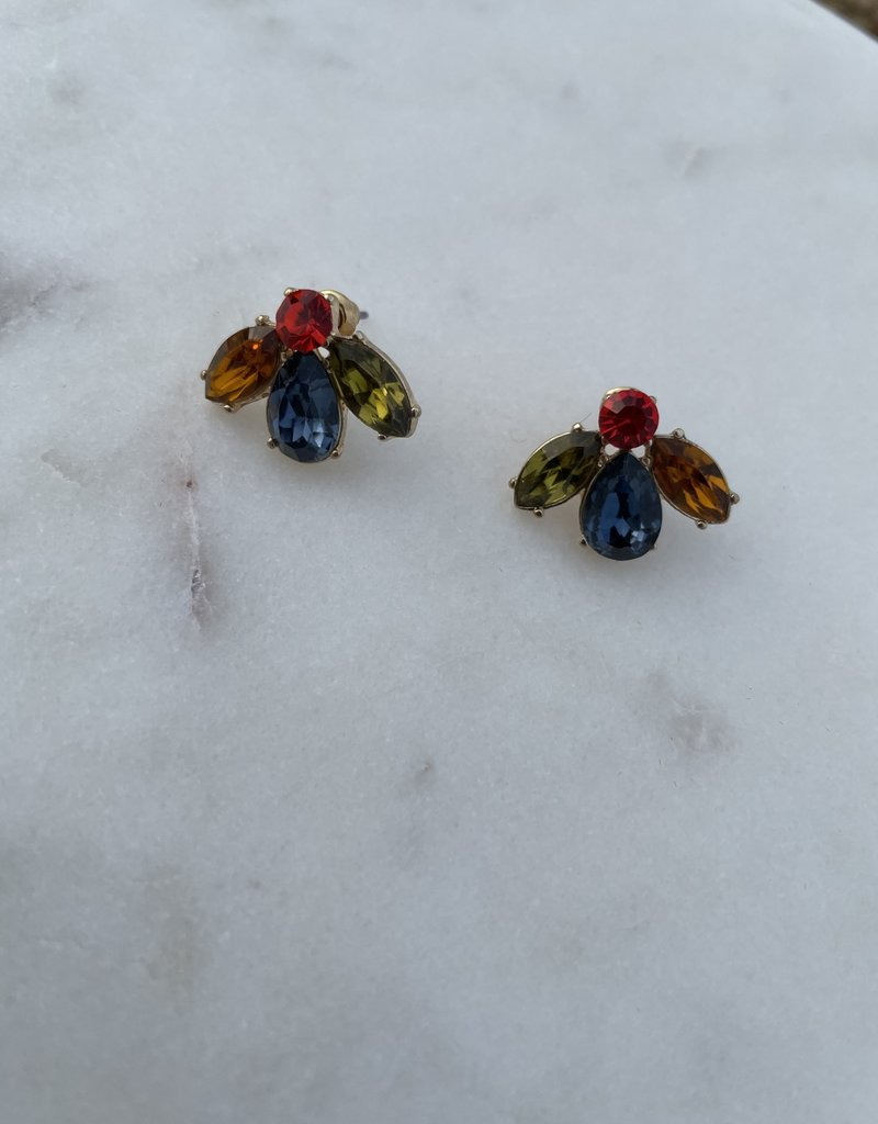 Colored Broach Studs