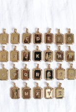 Kinsey Designs Inital Tile Necklaces