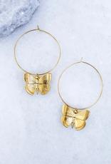 Kinsey Designs Aspire Hoop Earrings