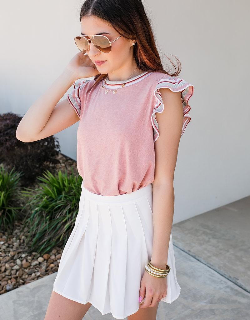 Urban Daizy Pleated tennis mini skirt