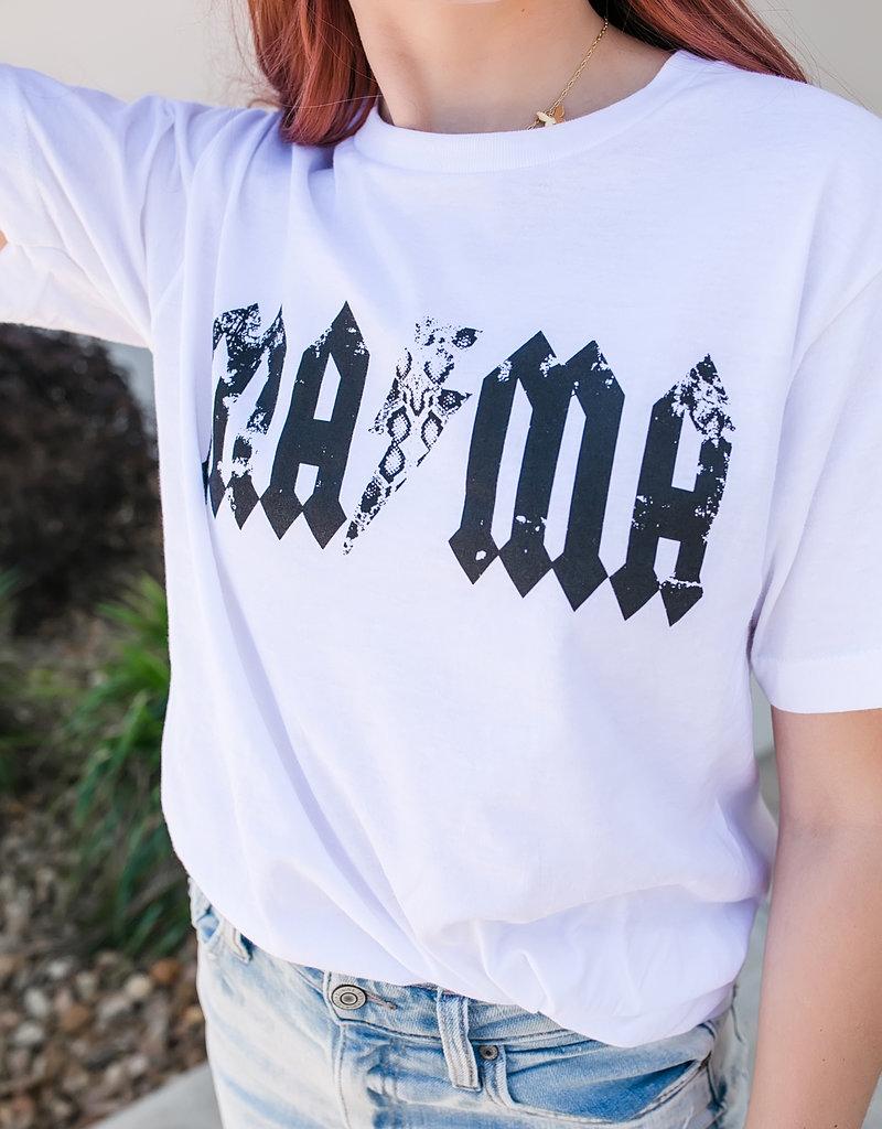 Tultex MAMA Lightening Bolt T-Shirt