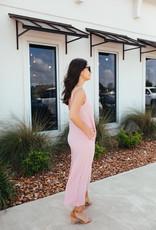 HYFVE Baby Pink Woven Jumpsuit