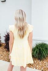 Ruffle 3-Tiered Dress