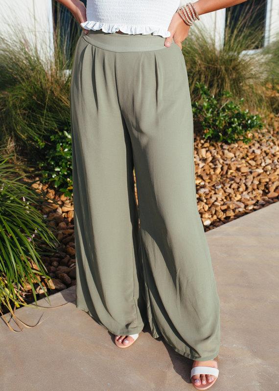 HYFVE Wide Leg Flowy Pants