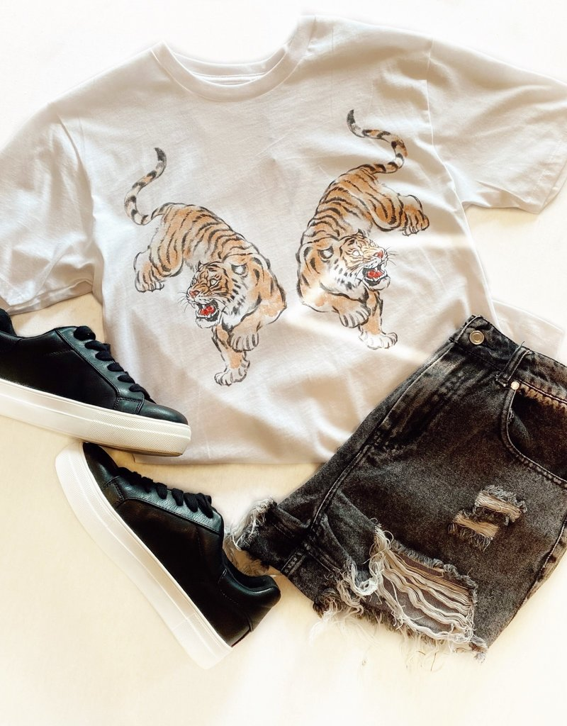 Oriental Tigers Boyfriend Tee