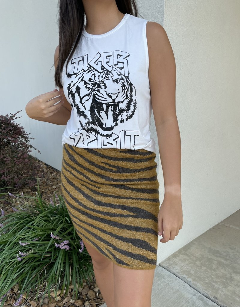 Judith March Go Tigers Skirt