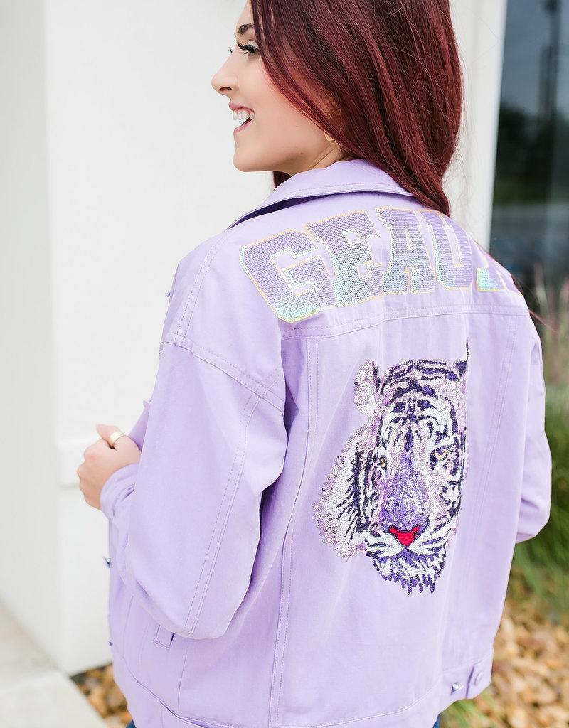 Purple Geaux Jacket